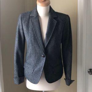 J Crew Herringbone Jacket/Blazer